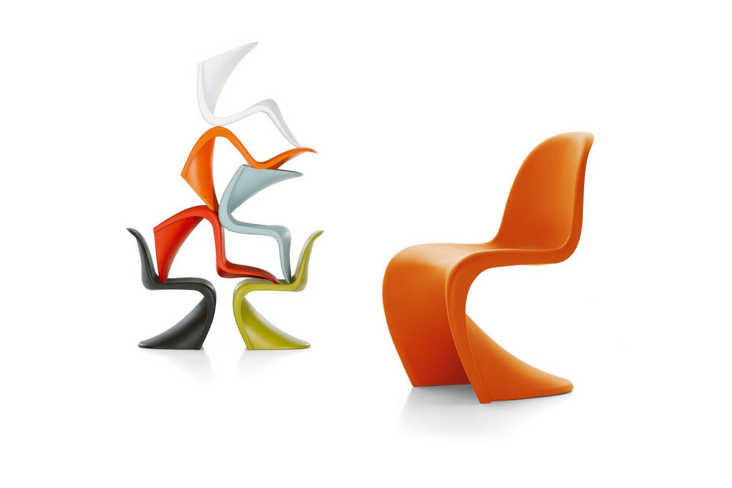 Panton Chair by Verner Panton for Vitra | Space Furniture