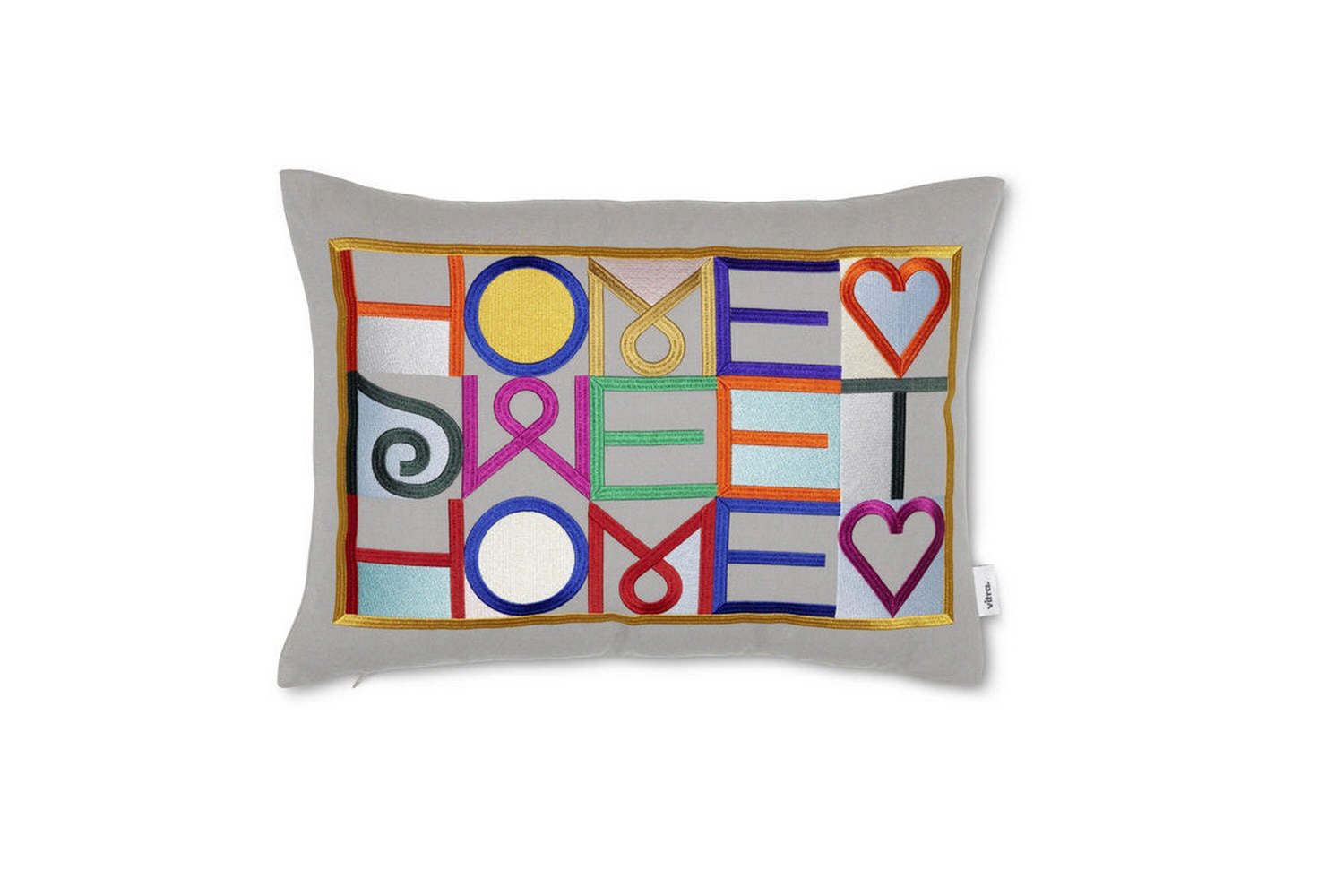 Embroidered Pillows by Alexander Girard for Vitra