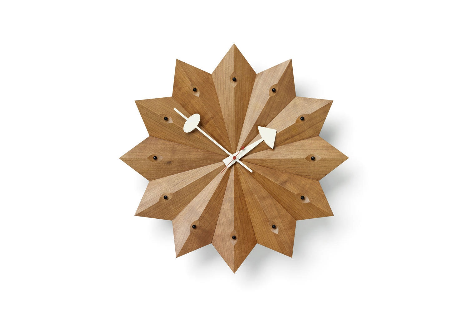 Fan Clock by George Nelson for Vitra