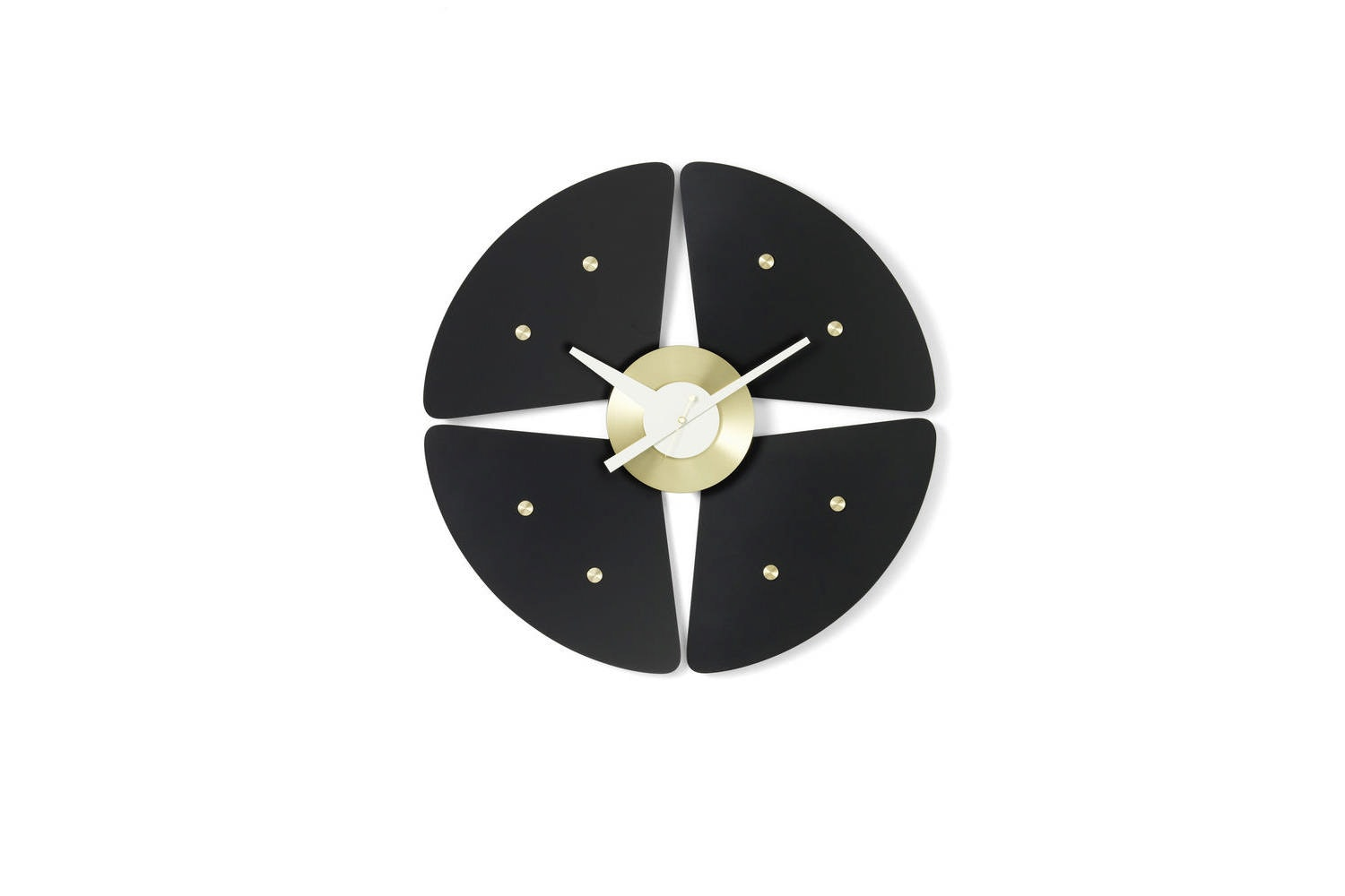 Petal Clock by George Nelson for Vitra