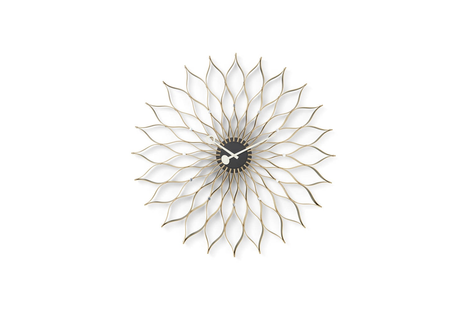 Sunflower Clock by George Nelson for Vitra