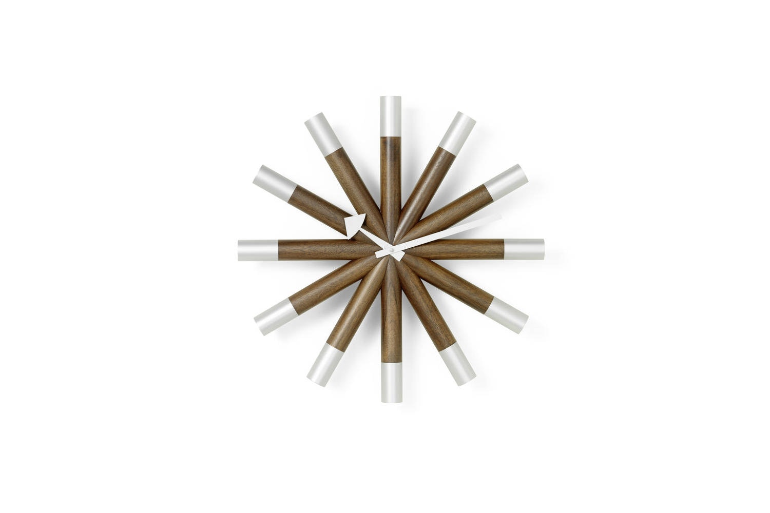 Wheel Clock by George Nelson for Vitra