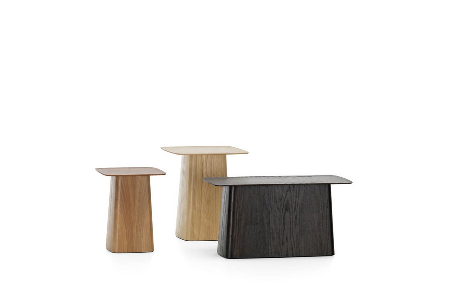 Wooden Side Tables by Ronan & Erwan Bouroullec for Vitra