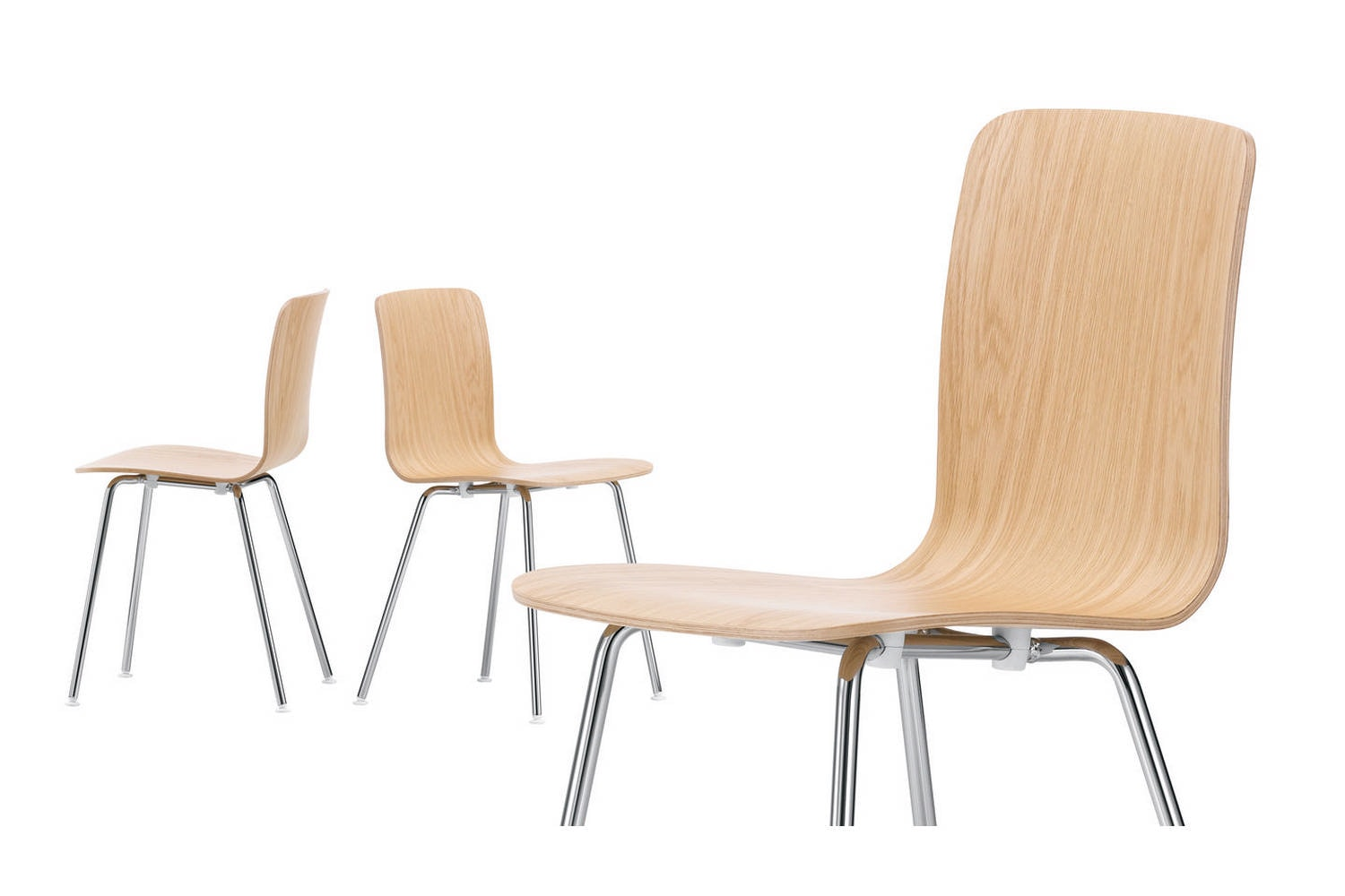 HAL Ply Tube Chair by Jasper Morrison for Vitra