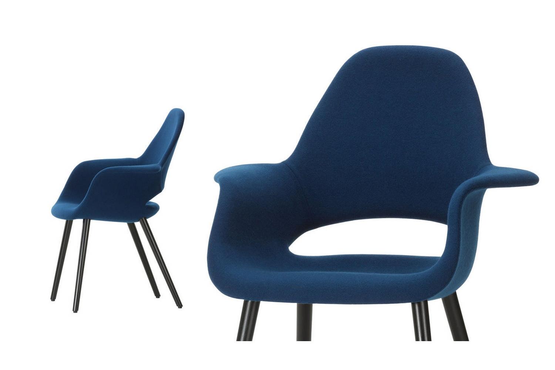 saarinen organic chair. Organic Conference Chair With Arms By Charles Eames \u0026 Eero Saarinen For Vitra N