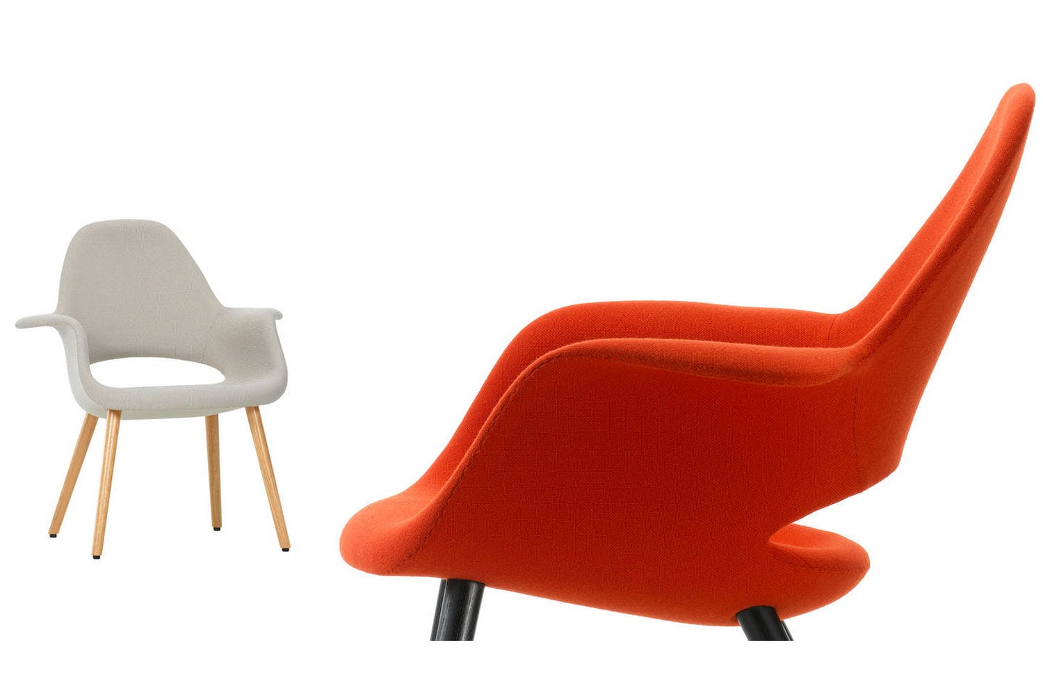 organic chair by charles eames eero saarinen for vitra space