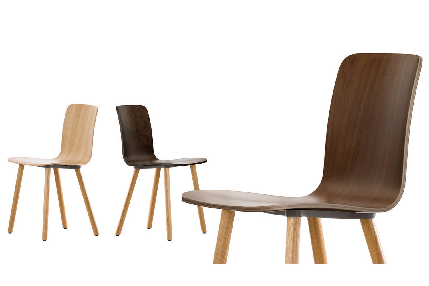 HAL Ply Wood Chair by Jasper Morrison for Vitra