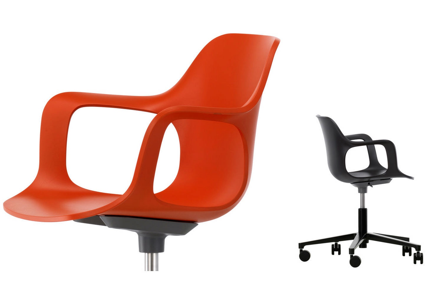 HAL Chair with Arms Studio by Jasper Morrison for Vitra
