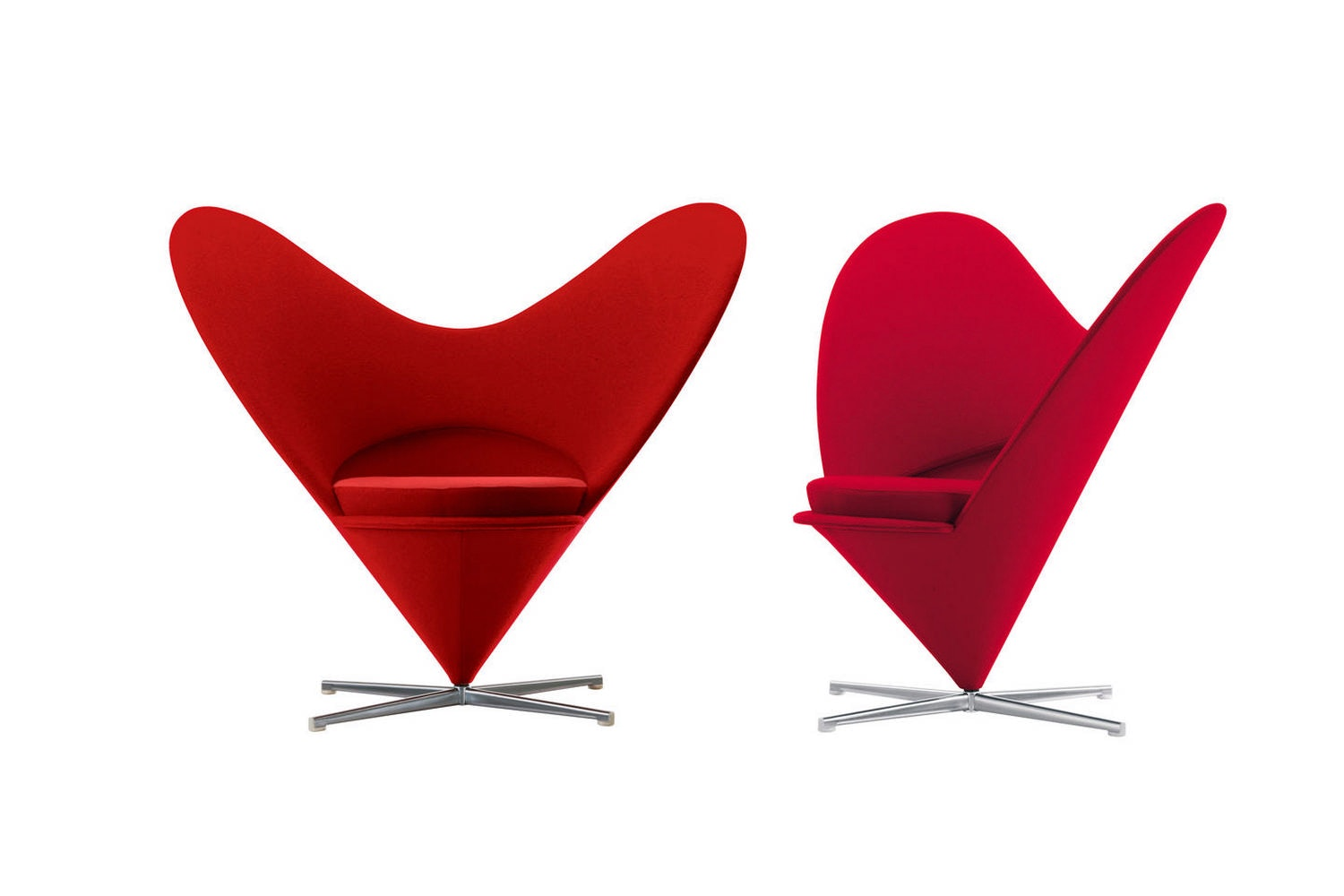 Heart Cone Chair by Verner Panton for Vitra