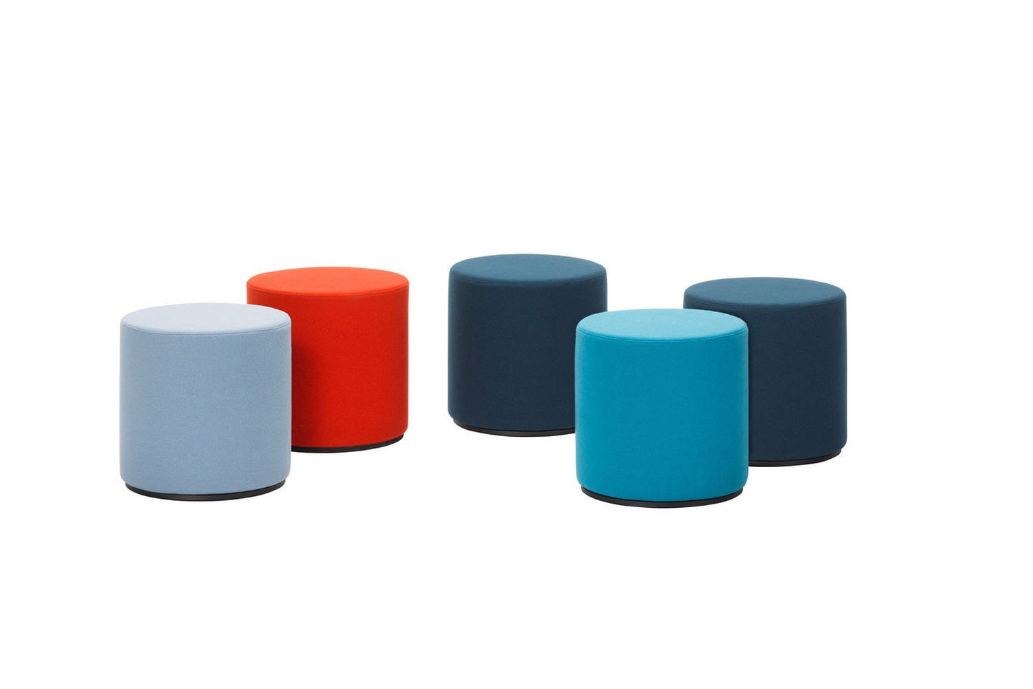 Visiona Stool by Verner Panton for Vitra