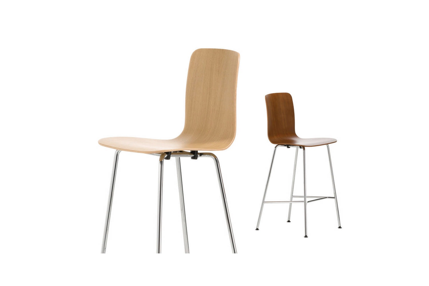 HAL Ply Stool Medium by Jasper Morrison for Vitra