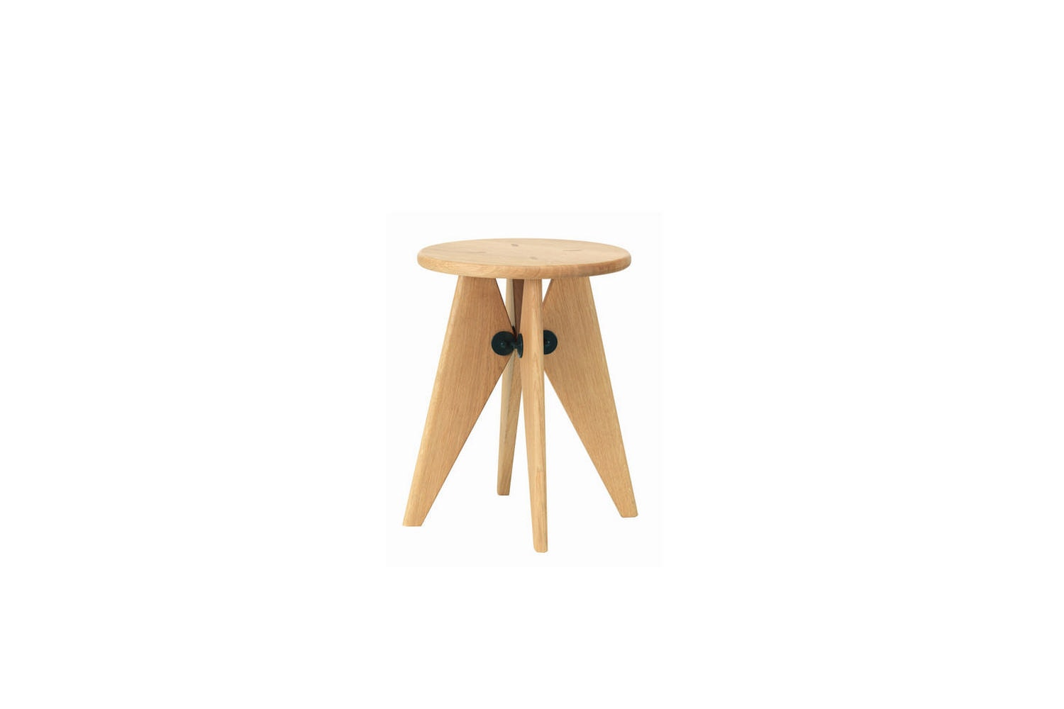Tabouret Solvay Stool by Jean Prouve for Vitra