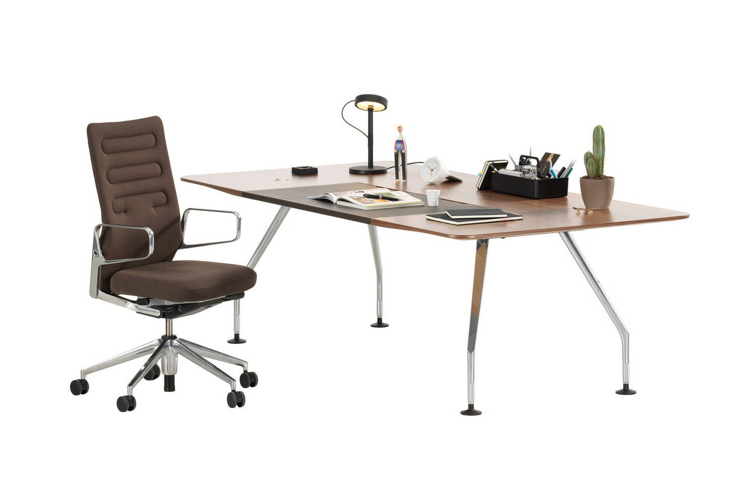 Captivating Ad Hoc Executive Table By Antonio Citterio For Vitra