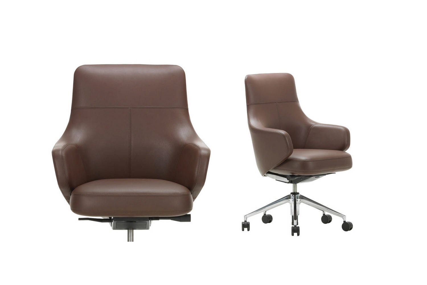 Grand Executive Lowback Chair by Antonio Citterio for Vitra