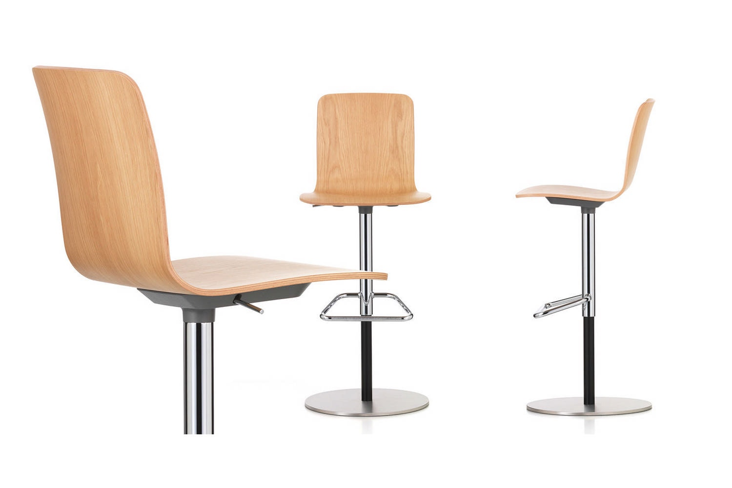HAL Ply Barstool by Jasper Morrison for Vitra