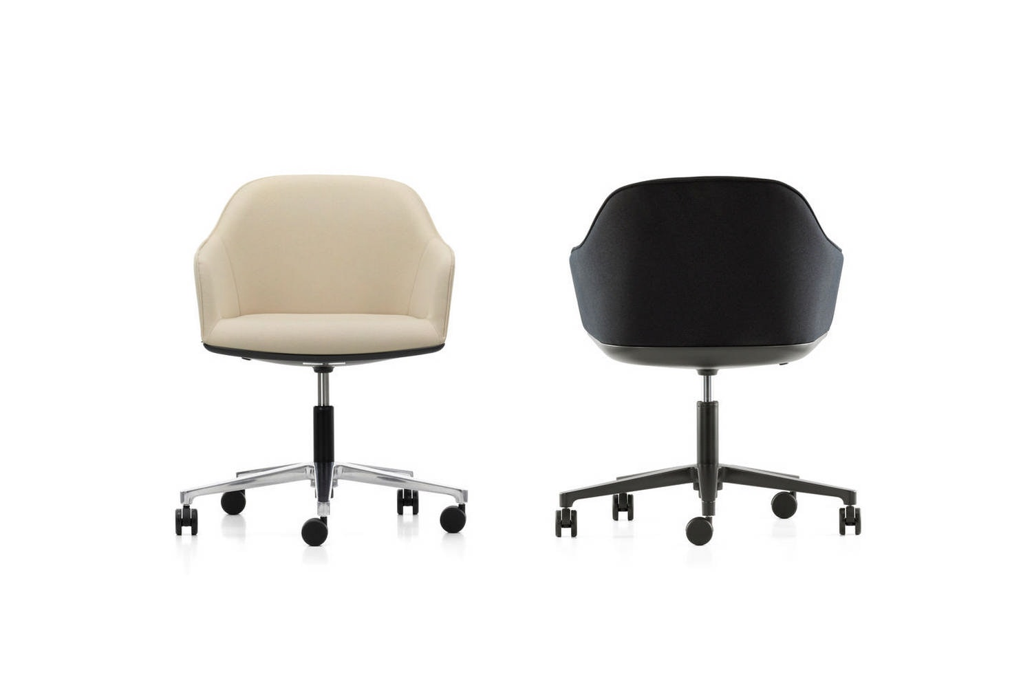 Softshell Chair with Five-Star Base by Ronan & Erwan Bouroullec for Vitra