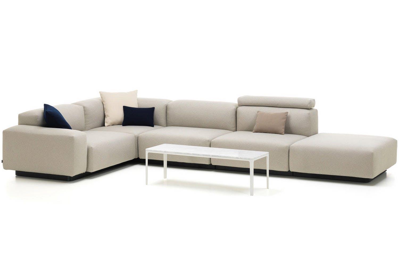 Soft Modular Sofa 4 Seater By Jasper Morrison For Vitra