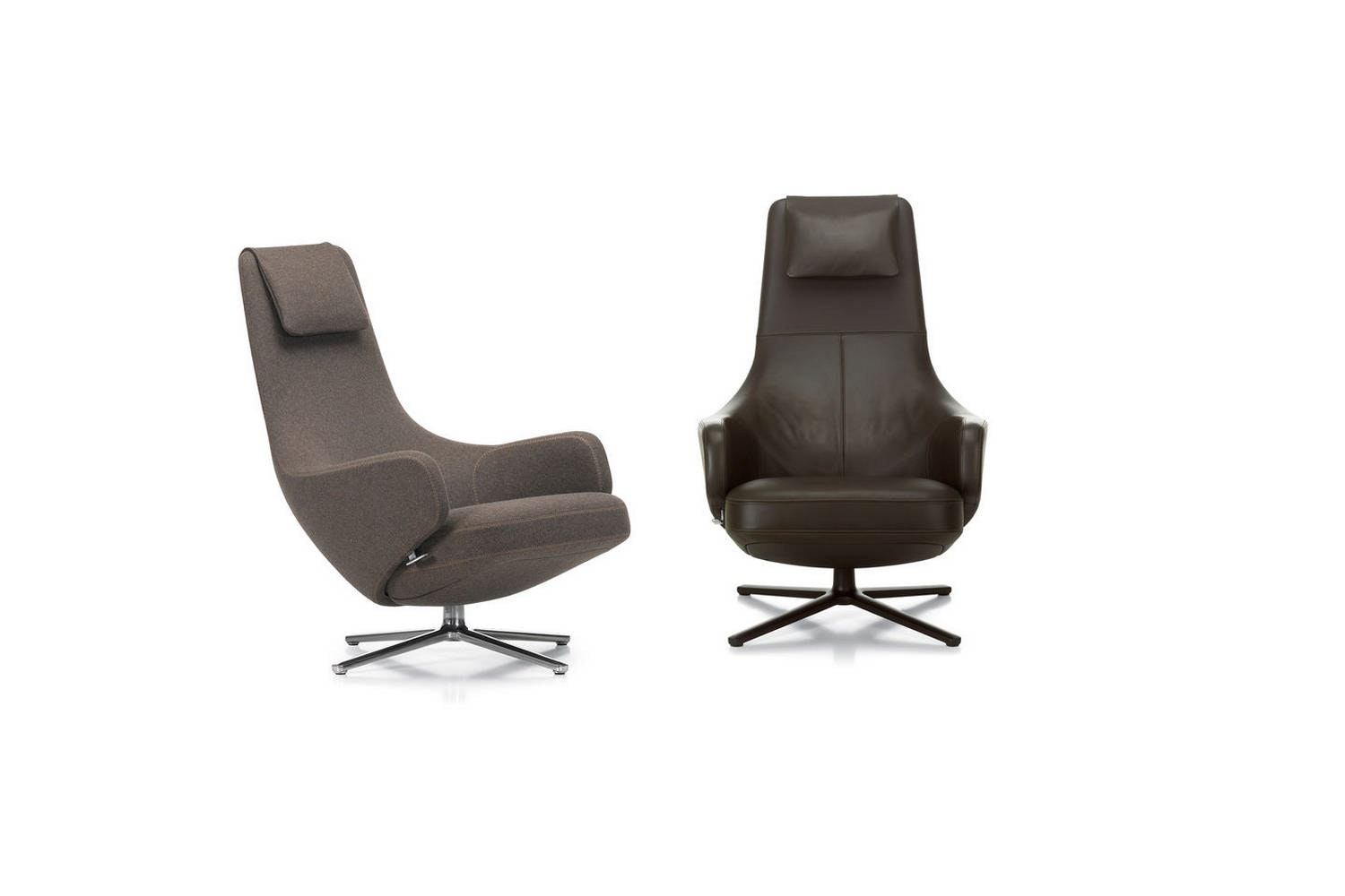 Repos & Grand Repos Armchair & Ottoman by Antonio Citterio for Vitra
