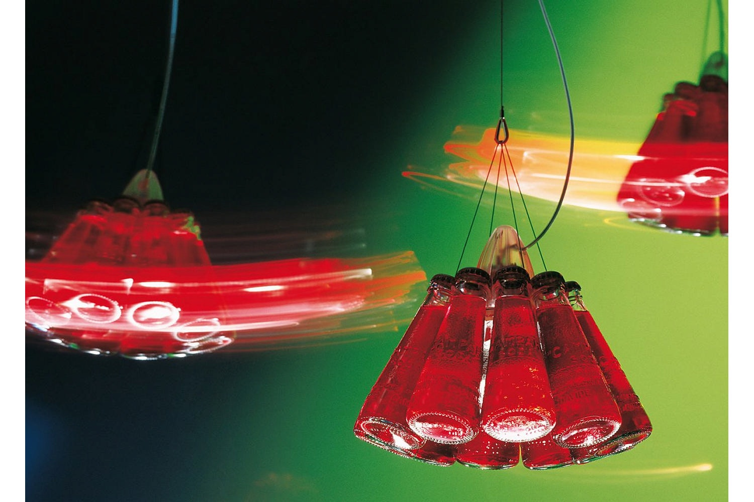 Campari Light Suspension Lamp by Raffaele Celentano for Ingo Maurer