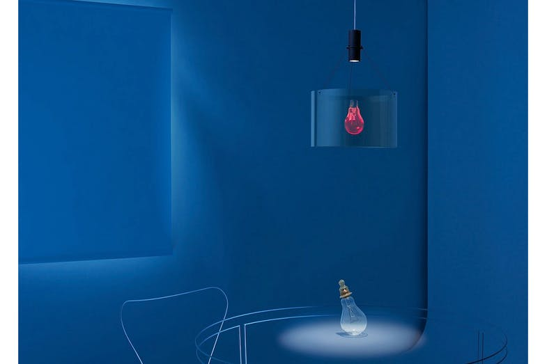 Eddie's Son Suspension Lamp by Ingo Maurer und Eckhard Knuth for Ingo Maurer