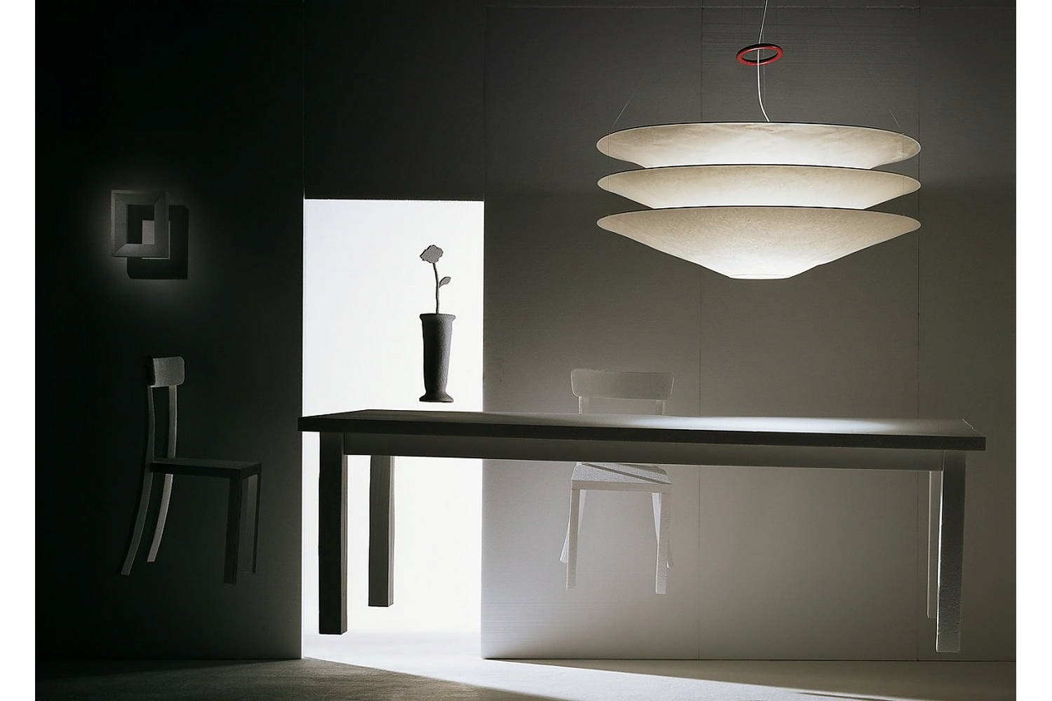 Floatation Suspension Lamp by Ingo Maurer for Ingo Maurer