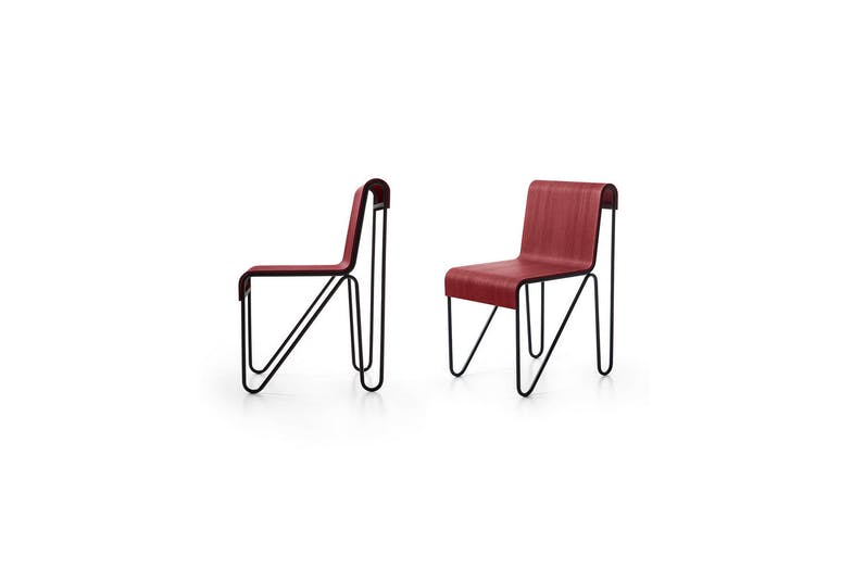 279 Beugel Chair by Gerrit Thomas Rietveld for Cassina