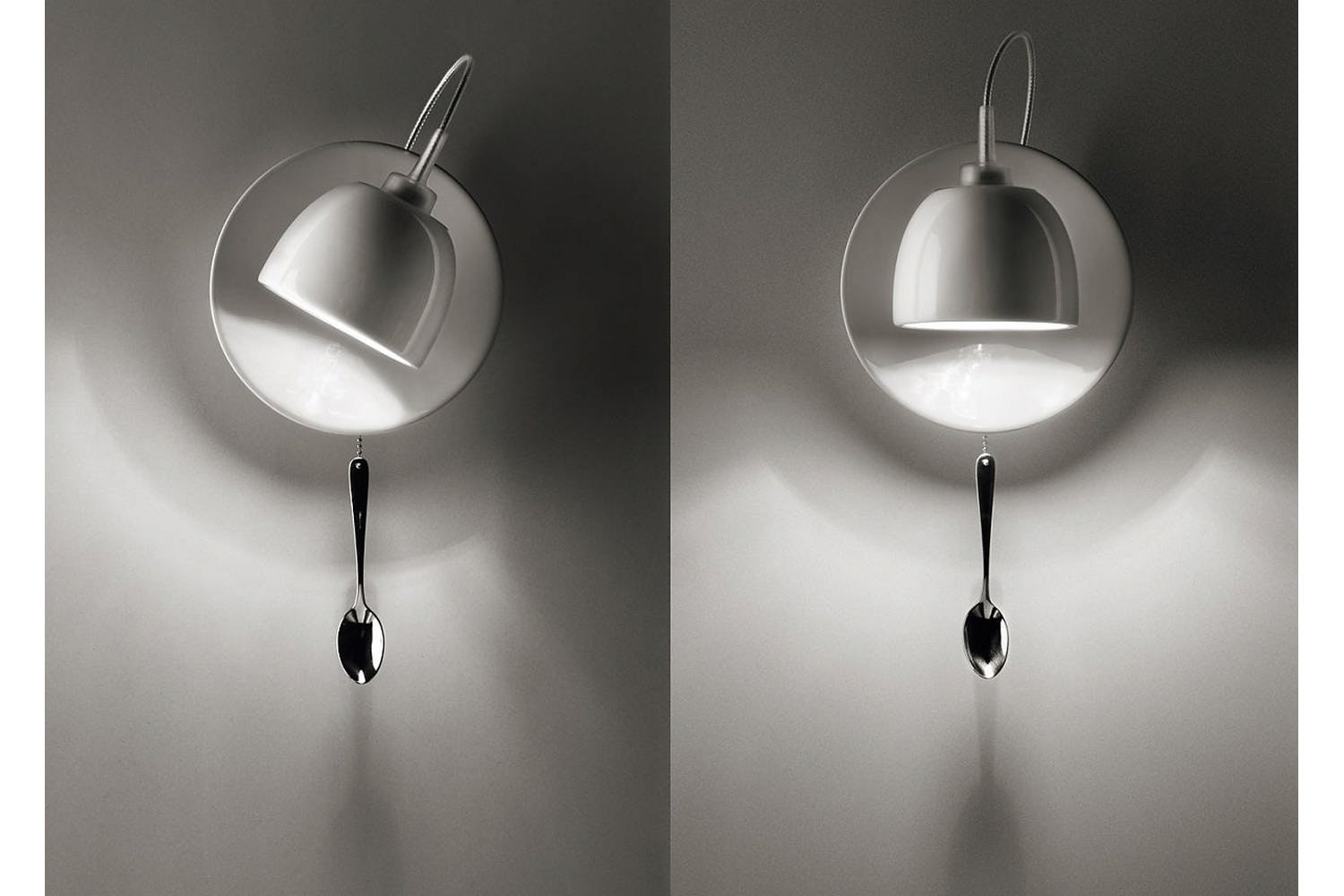 Light Au Lait Wall Lamp by Fabien Dumas, Ingo Maurer und Team for Ingo Maurer