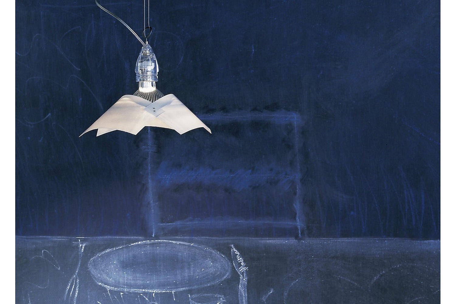Lucetto Suspension Lamp by Bernhard Dessecker, Ingo Maurer und Team for Ingo Maurer