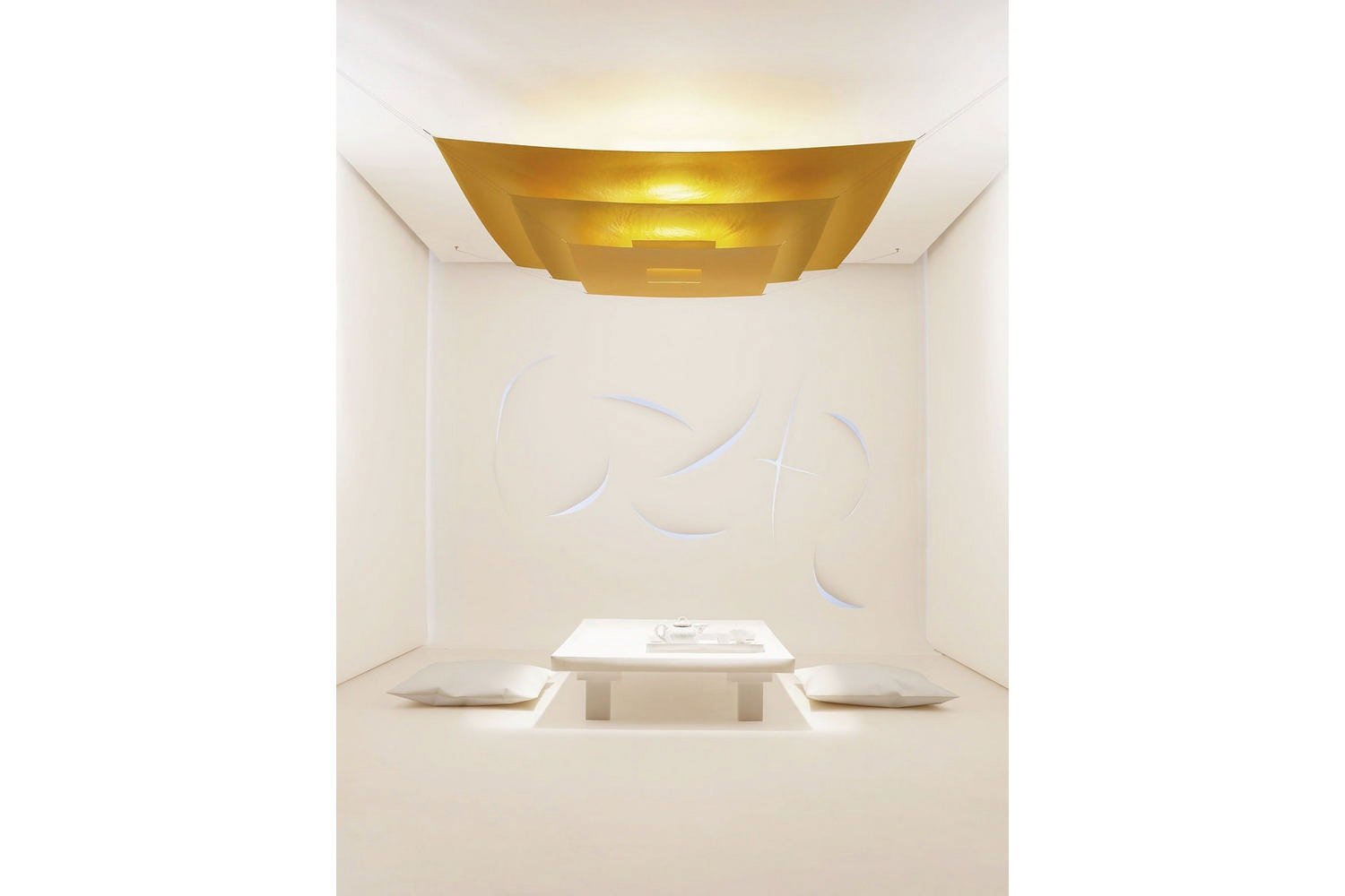 Luxury Pure Ceiling Lamp by Ingo Maurer und Team for Ingo Maurer