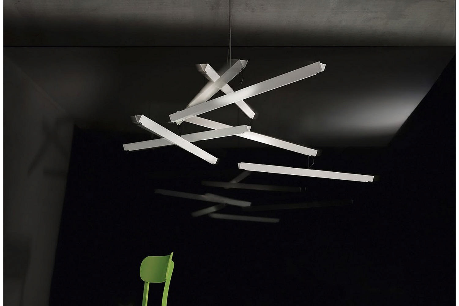 ManOMan Suspension Lamp by Ingo Maurer und Team for Ingo Maurer