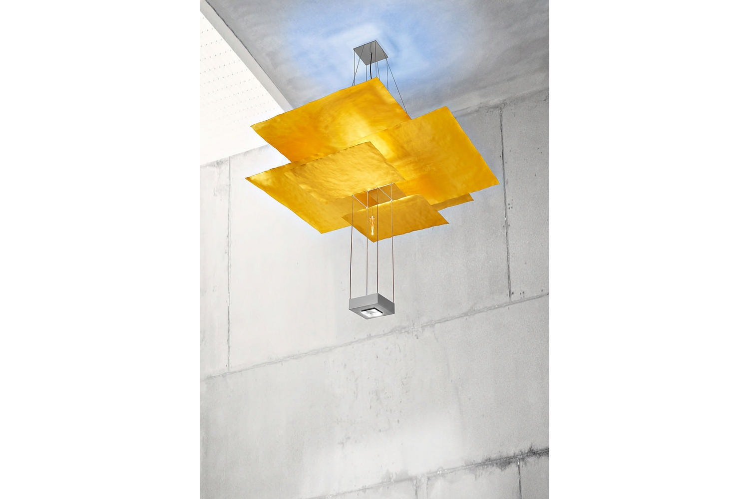 Oh Mei Ma Kabir Suspension Lamp by Ingo Maurer und Team for Ingo Maurer