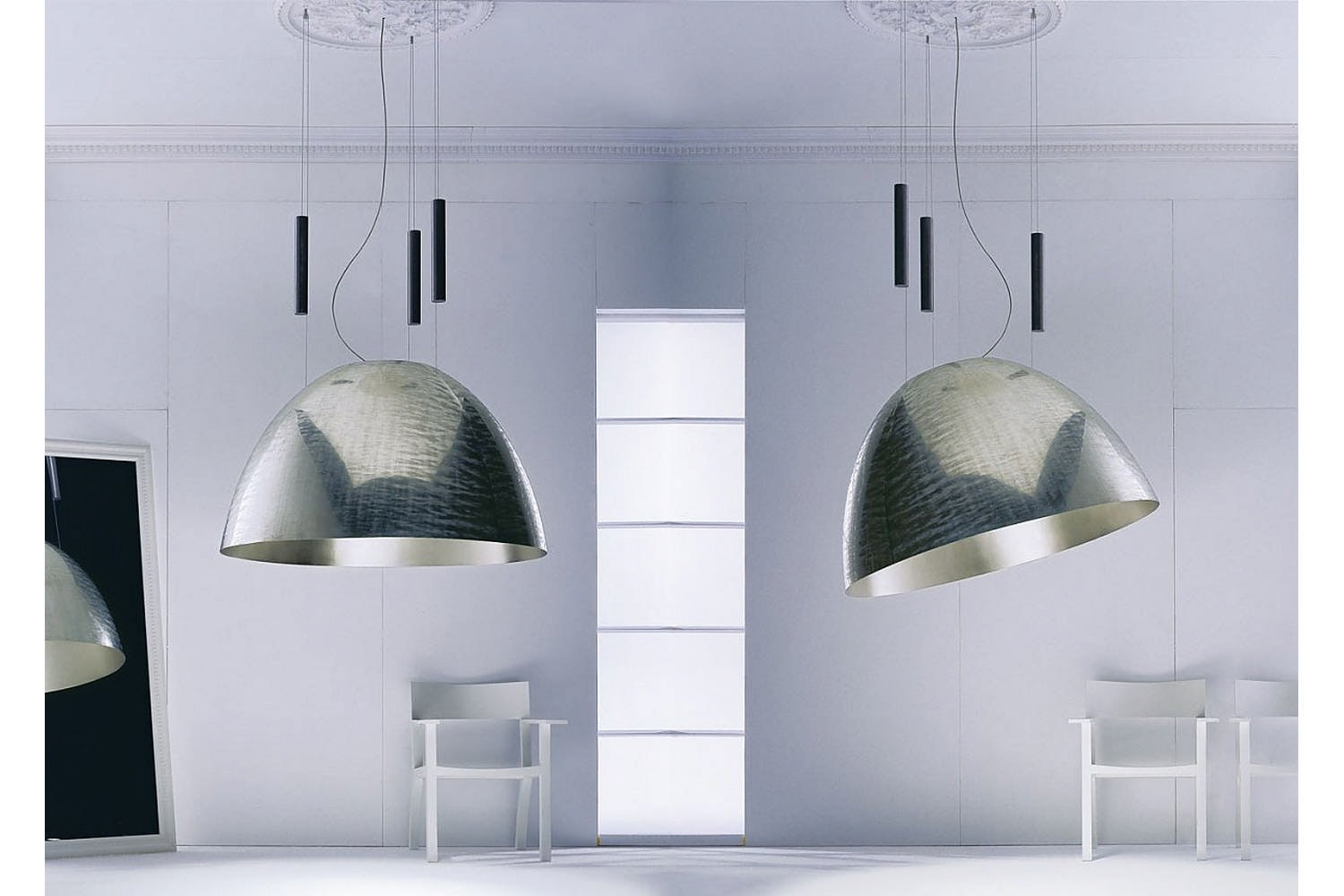 Pierre ou Paul Suspension Lamp by Ingo Maurer und Team for Ingo Maurer
