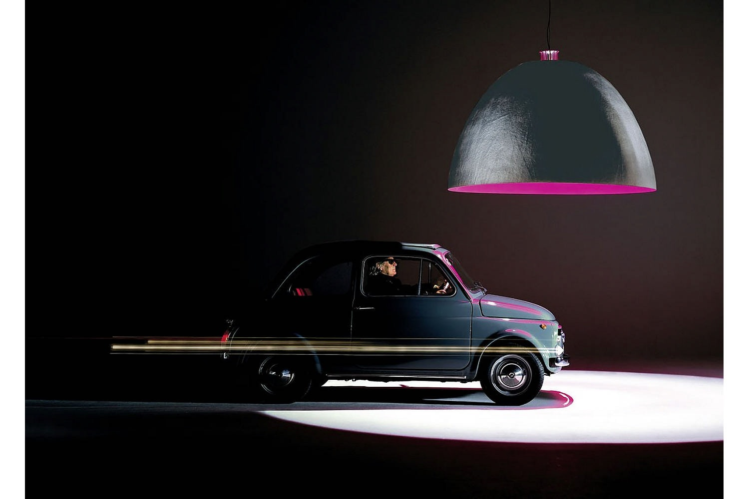 XXL Dome Suspension Lamp by Ingo Maurer for Ingo Maurer