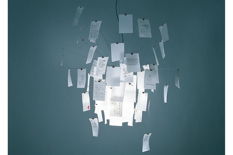 Zettel'z 6 Suspension Lamp by Ingo Maurer for Ingo Maurer