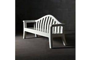 Giulietta Bench by Paolo Rizzatto for Serralunga