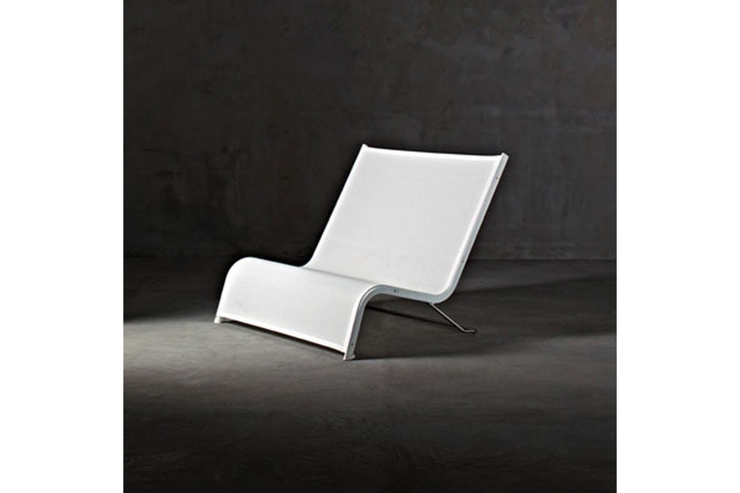 Lazy Deckchair 2 Chaise by Michel Boucquillon for Serralunga