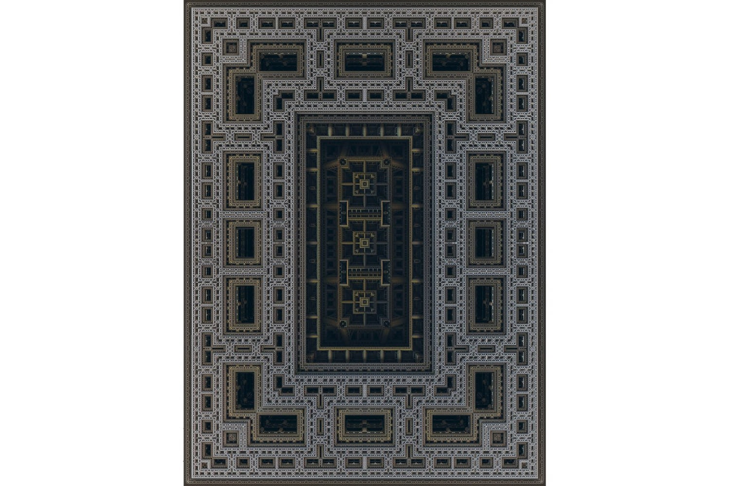 Studies for a Mosque #077 Rug by Marcel Wanders for Moooi Carpets