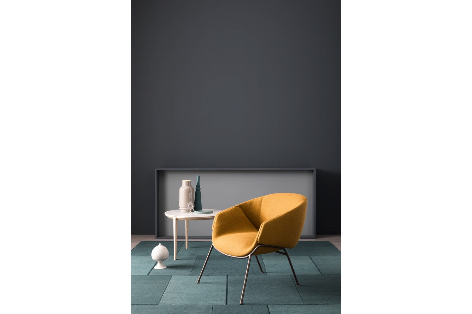 Anita Rod Base Armchair by Metrica for SP01