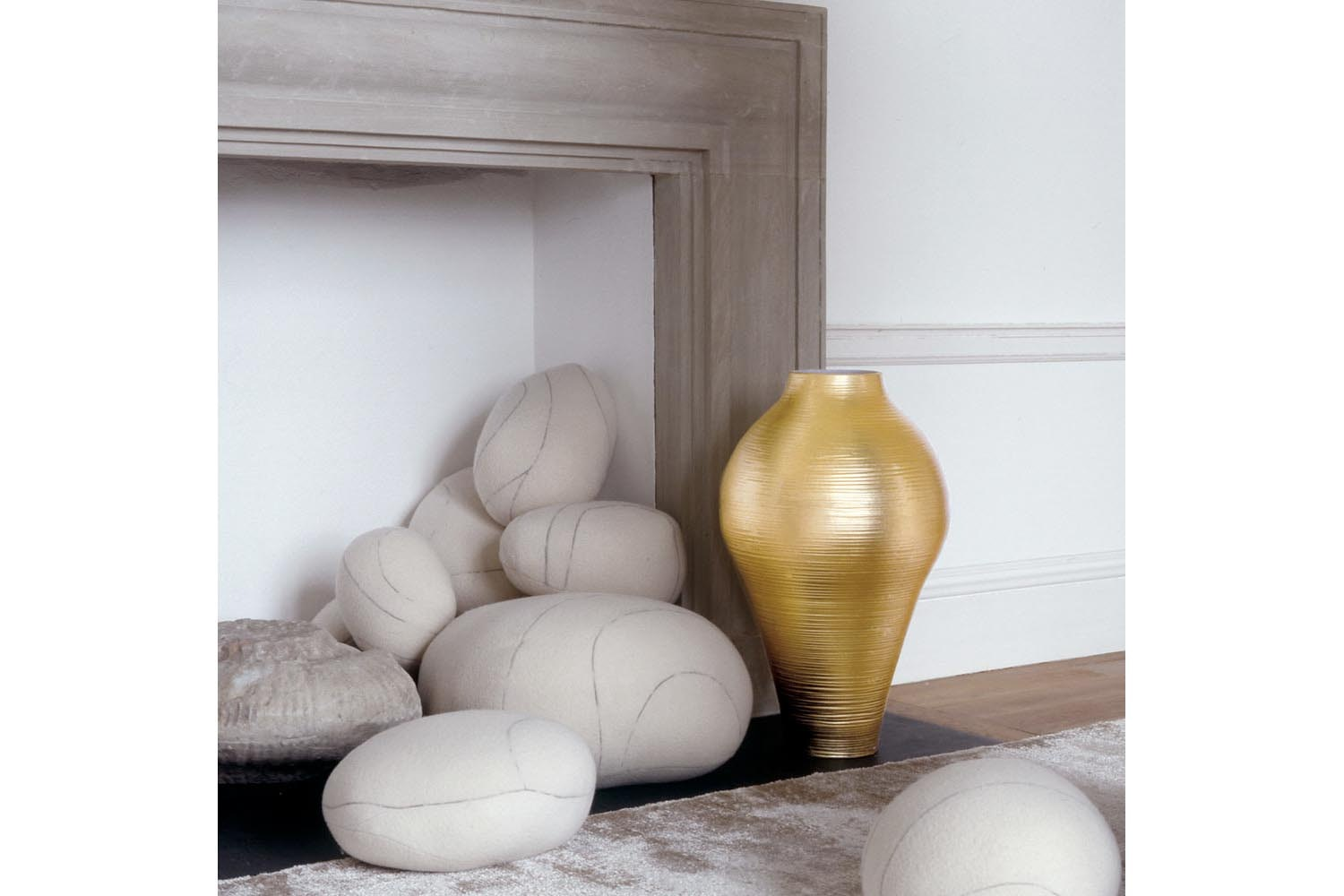 Gold Collection High Vase by Marcel Wanders for B&B Italia