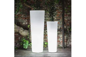 New Pot High Family with Light by Paolo Rizzatto for Serralunga