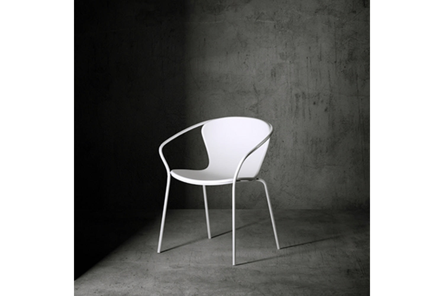 Solea Chair with Armrests by Giovanni Giacobone & Massimo Roj for Serralunga