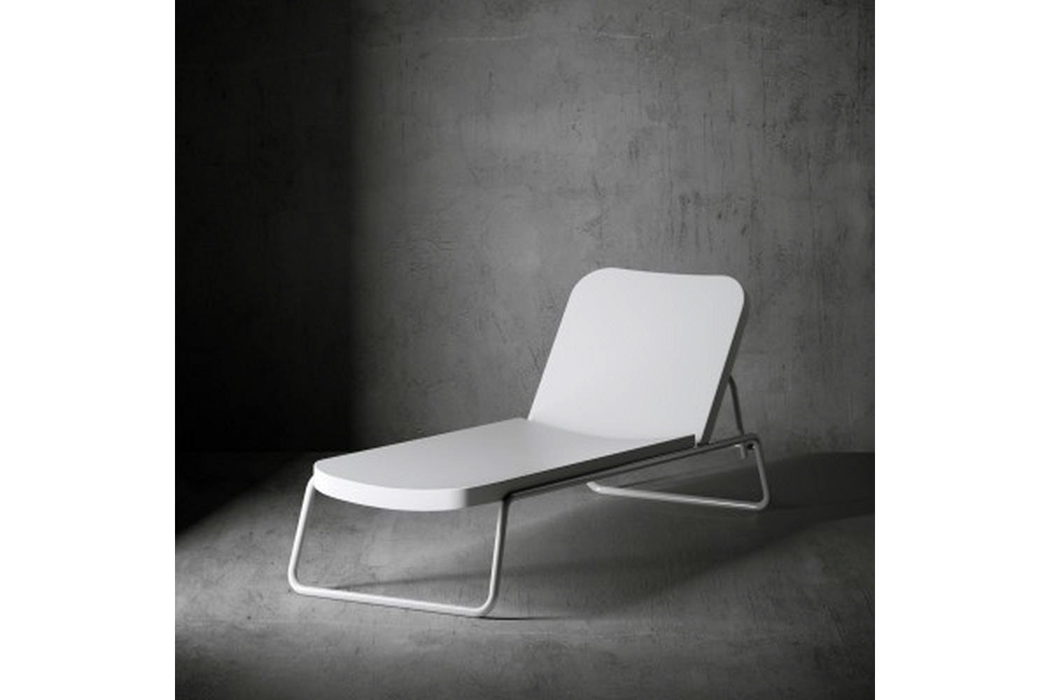 Time Out Reclining Chaise Longue by Rodolfo Dordoni for Serralunga