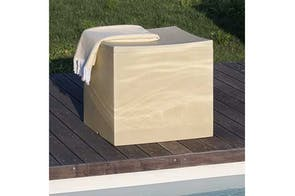 Lounge Cube Stool by Serralunga