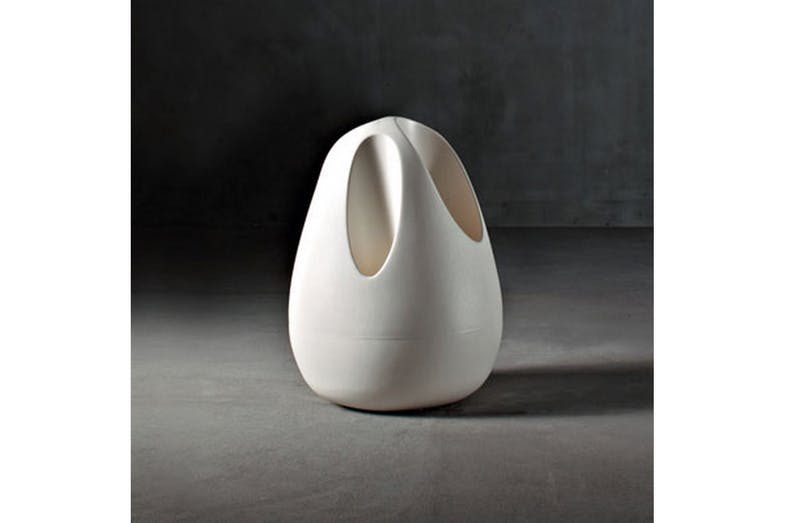 Plomb Umbrella Stand by Karim Rashid for Serralunga