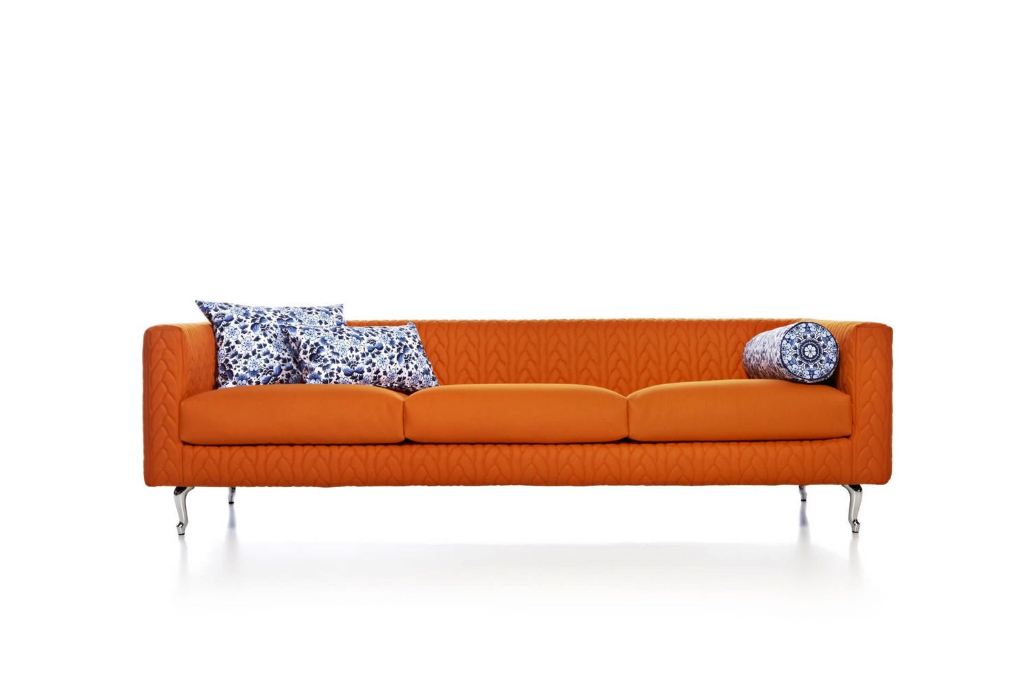 Boutique Delft Blue Jumper Sofa by Marcel Wanders for Moooi
