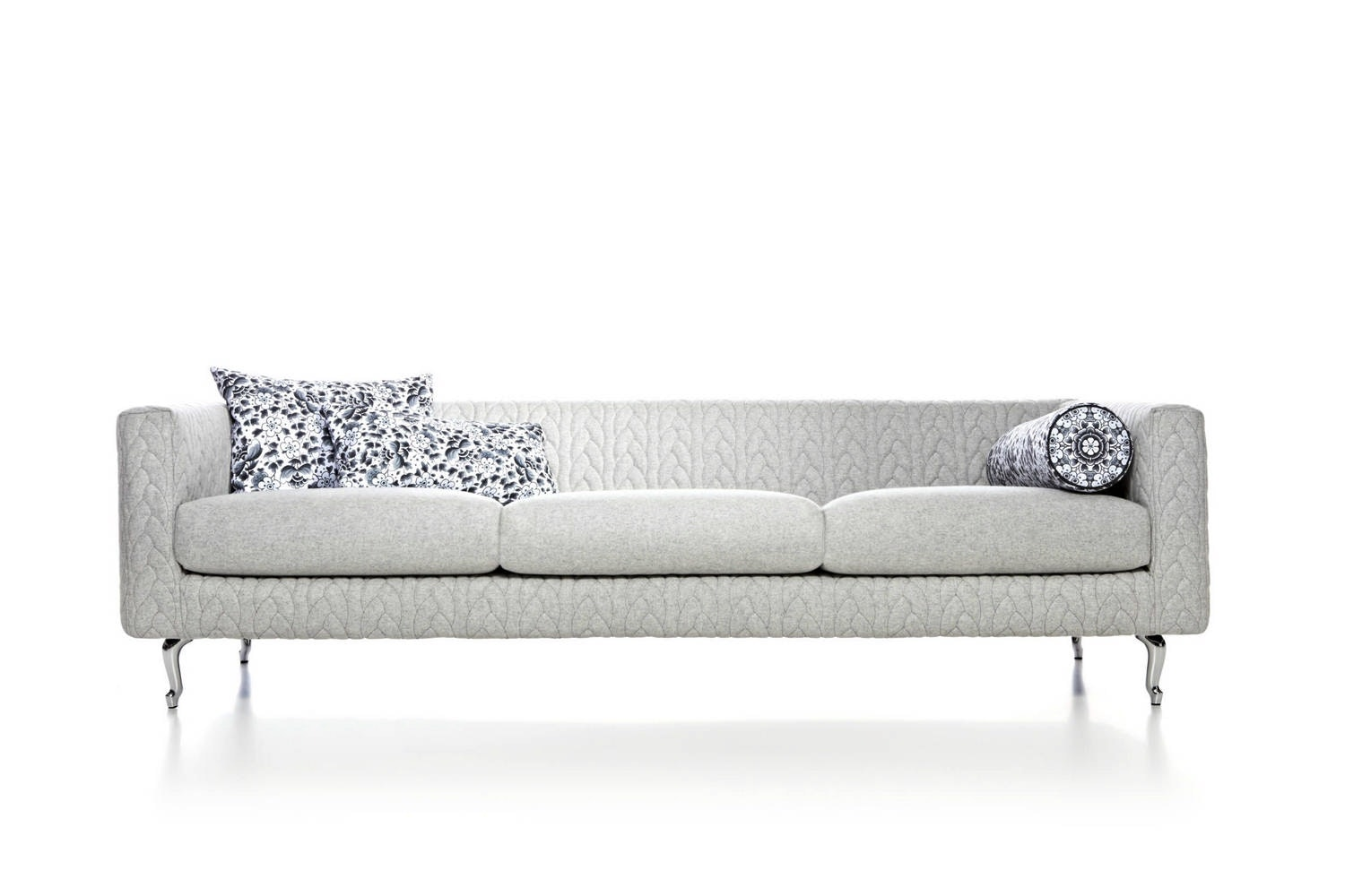 Boutique Delft Grey Jumper Sofa by Marcel Wanders for Moooi