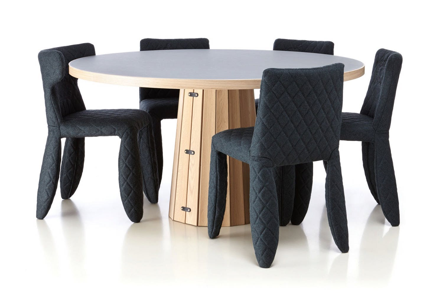 Container Tafel Moooi : Container table bodhi with linoak top by marcel wanders for moooi