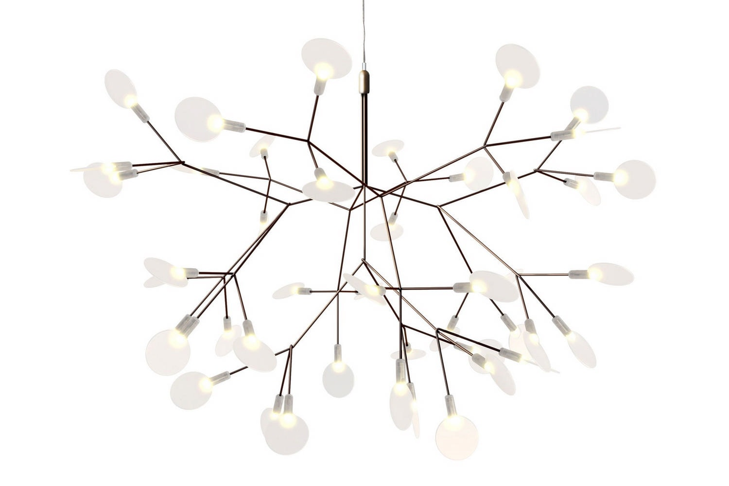 Heracleum II Small Suspension Lamp by Bertjan Pot for Moooi