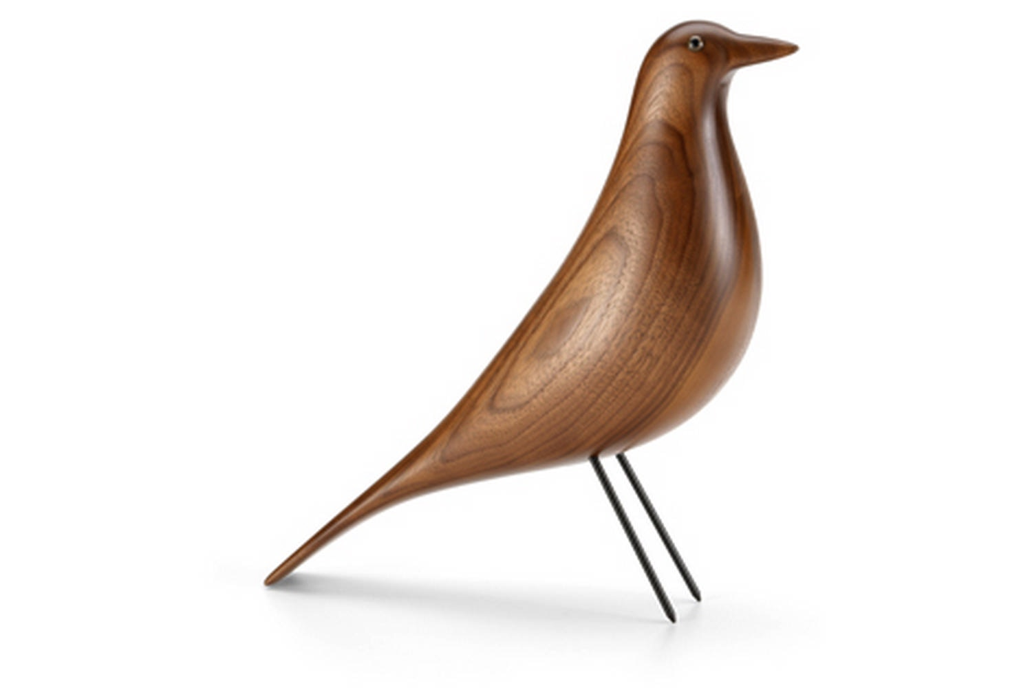 Eames House Bird - Walnut by Charles & Ray Eames for Vitra