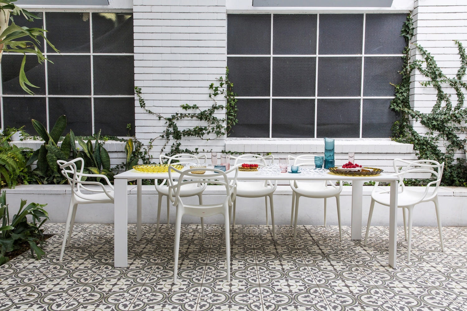 Outdoor Dining Package by Kartell